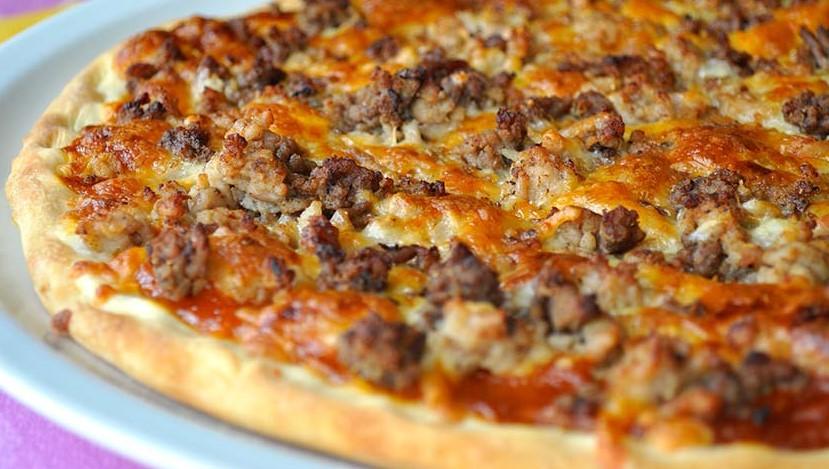Pizza barbacoa (la del telepizza) | Receta de Sergio